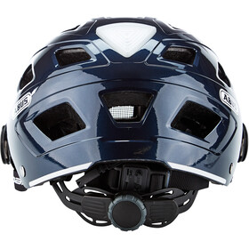 ABUS Hyban+ Casque, midnight blue, smoke visor